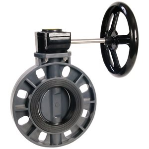 Butterfly Valves, Gear Operated