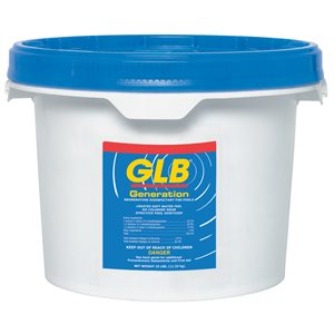 "GLB 71002A Generation Brominating Tablets 1"", 25 lb."