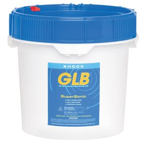 GLB 71450A Supersonic 73% Cal Hypo Shock, 5 lb., Case of 6
