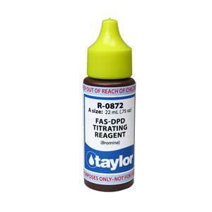 Taylor Reagent .75 oz., R-0872-A (FAS-DPD Bromine)