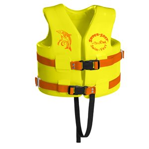 Super Soft Safety Vest, Childrens Small, Yellow