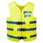 Super Soft Safety Vest, Yellow, Adult Medium