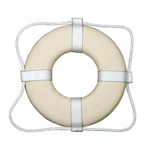 Canvas Covered Ring Buoy, 25 inch