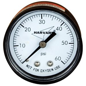 "Pressure Gauge Polypropylene Case 2"" Back Mount"