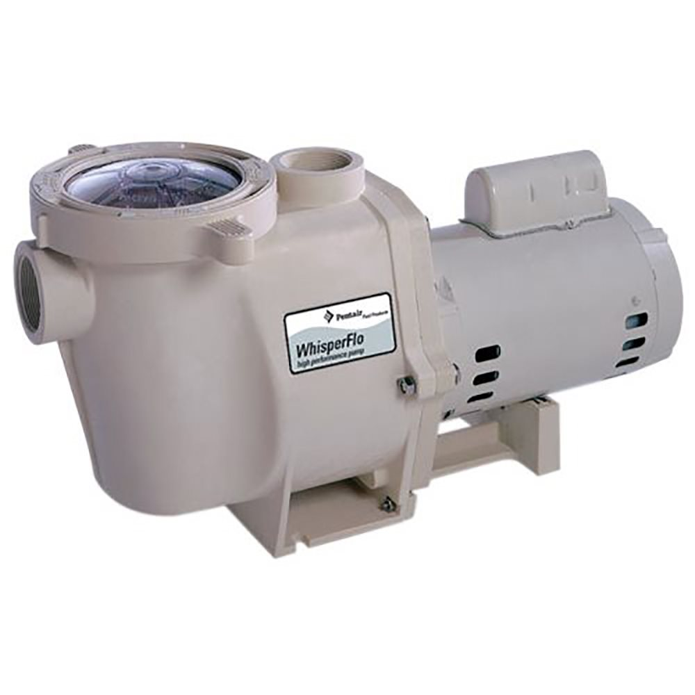 pentair 011642 whisperflo pump with tefc motor 3 phase 1