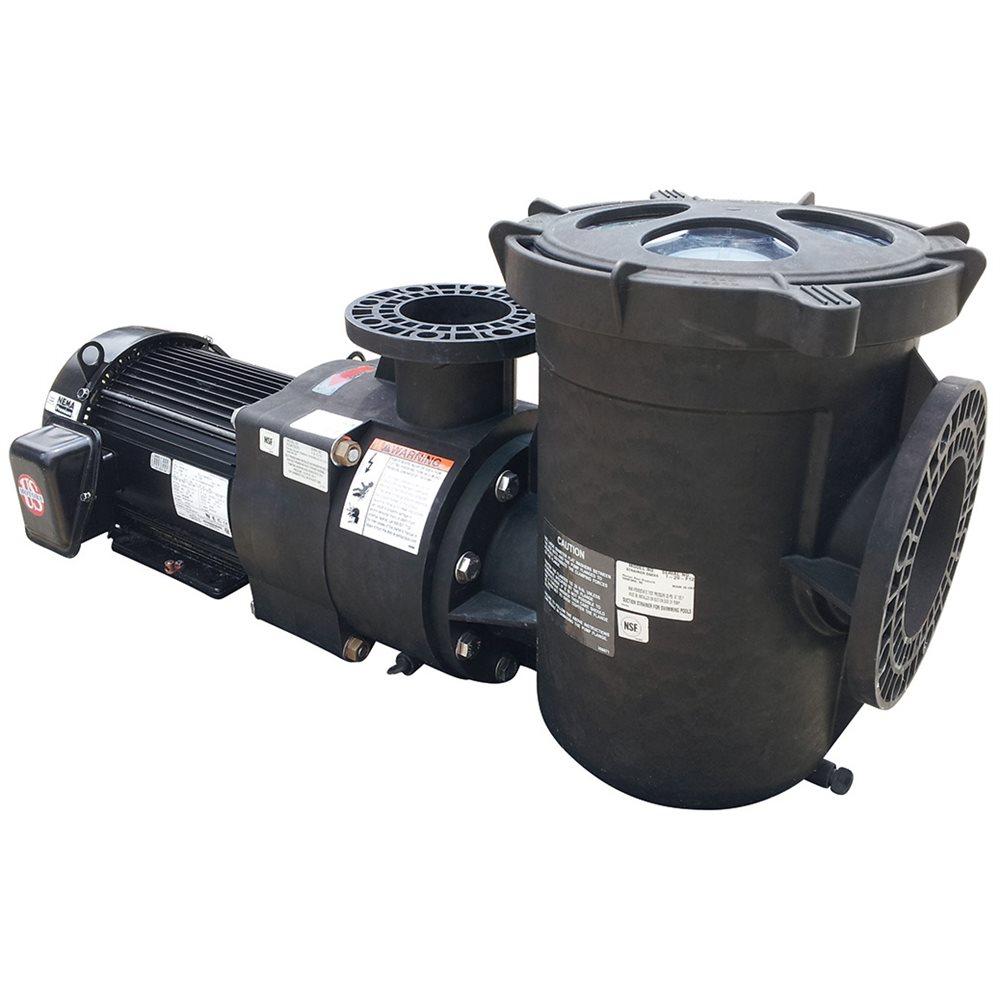 Pentair eq series pump tefc motor 340607 eqt1500 15 hp for 15 hp 3 phase motor