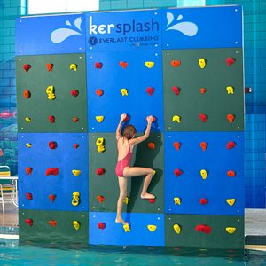 Kersplash Climbing Wall, Color, 12 Ft Tall, 12 Ft Wide