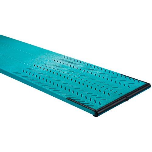 Maxiflex model b aluminum diving board 16 39 for Swimming pool diving board paint kit