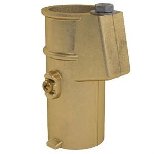 "Bronze Anchor Socket for 1.5"" Tubing"