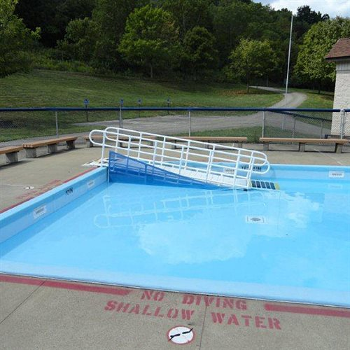 Aquatrek2 Wading Pool Ramp 30 Quot Width