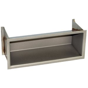 Recessed Step, Stainless Steel