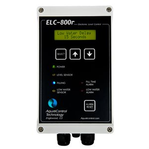 ELC-800r Water Level Controller, Single Sensor