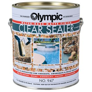 Olympic Clear Sealer (Configure Finish and Size)