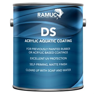 Ramuc Type DS Acrylic GALLON, Royal Blue