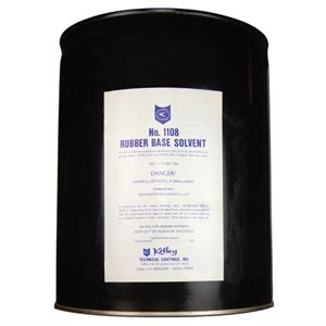 Olympic Solvent FIVE GALLON, Rubber Base