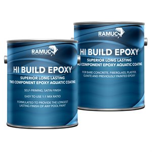 Ramuc Type EP Hi Build TWO GALLON, Dawn Blue