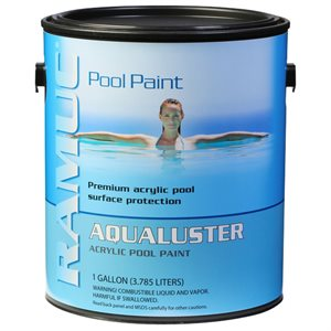 Ramuc AquaLuster Acrylic Pool Coating GALLON, Dawn Blue
