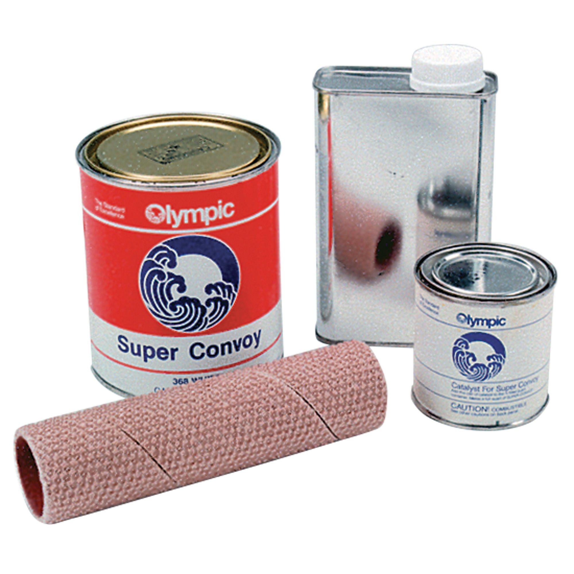 Olympic diving board repair kit white for Swimming pool diving board paint kit