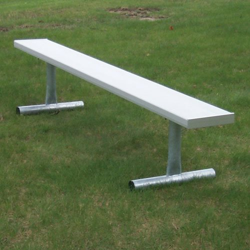 Aluminum bench outdoor 21 ft Aluminum benches