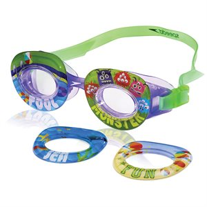 Speedo Kids Neonwonders Goggle, Purple