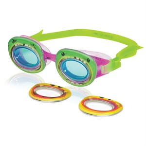 Speedo Kids Neonwonders Goggle, Grape