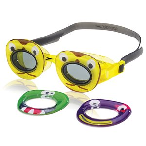 Speedo Kids Neonwonders Goggle, Yellow