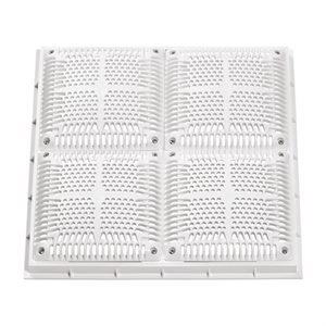 "Hayward Frame and Grate, 18"" Square, High Flow"