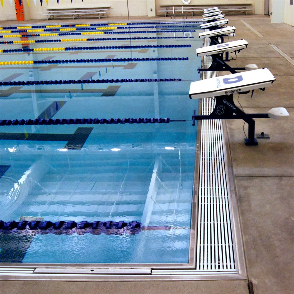 Swimming Pool Systems : Stainless steel swimming pool gutter system