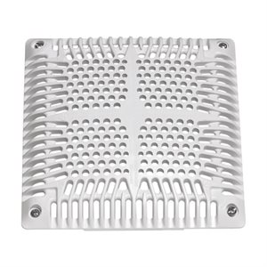 "Hayward Replacement Grate, 9"" Square, High Flow"