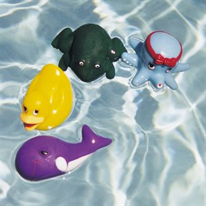 Water Gear Water Play and Dive Pets (Set of 4)
