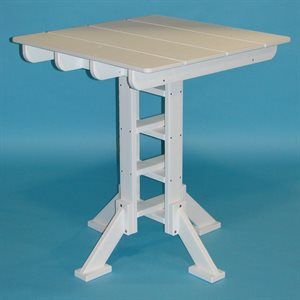Tailwind Pub Table, Square 36""