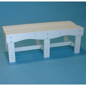 Tailwind Backless Bench, 47""
