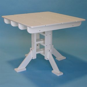 Tailwind Dining Table, Square 36""
