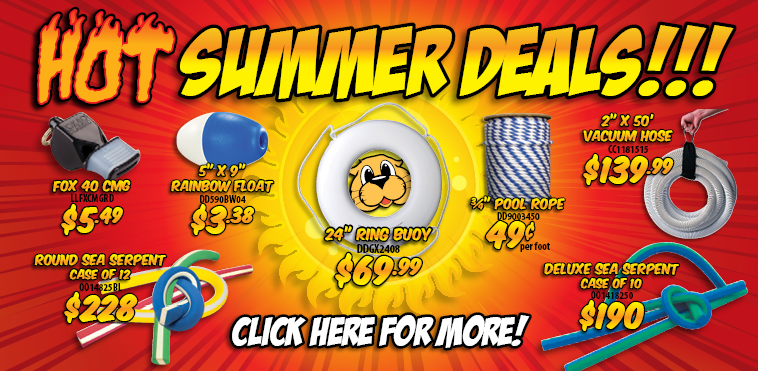 RecSupply - Commercial Pool Supply 2015 Summer Sale!