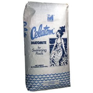 Diatomaceous Earth (D.E.) and Cellulose Fiber Media