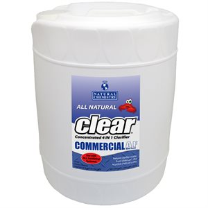 Natural Chemistry Clear All Natural Clarifier, Five Gallon