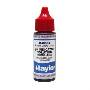 Taylor Reagent .75 oz., R-0004-A (pH Indicator) CLEARANCE Exp. 1 / 21