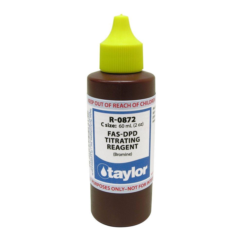 Taylor Reagent 2 Oz R 0872 C Fas Dpd Bromine
