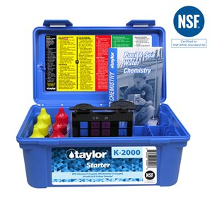 Taylor Starter Test Kit, High Range K-2000