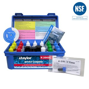 Taylor Service Complete Test Kit, High Range K-2005C