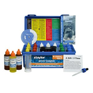 Taylor Service Complete Test Kit, High Range, plus Salt Test K-2005C-SALT