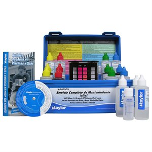 Taylor Service Complete Test Kit, High Range, Spanish K-2005CS
