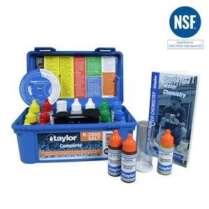 Taylor Complete Test Kit, High Range, plus Salt Test K-2005-SALT