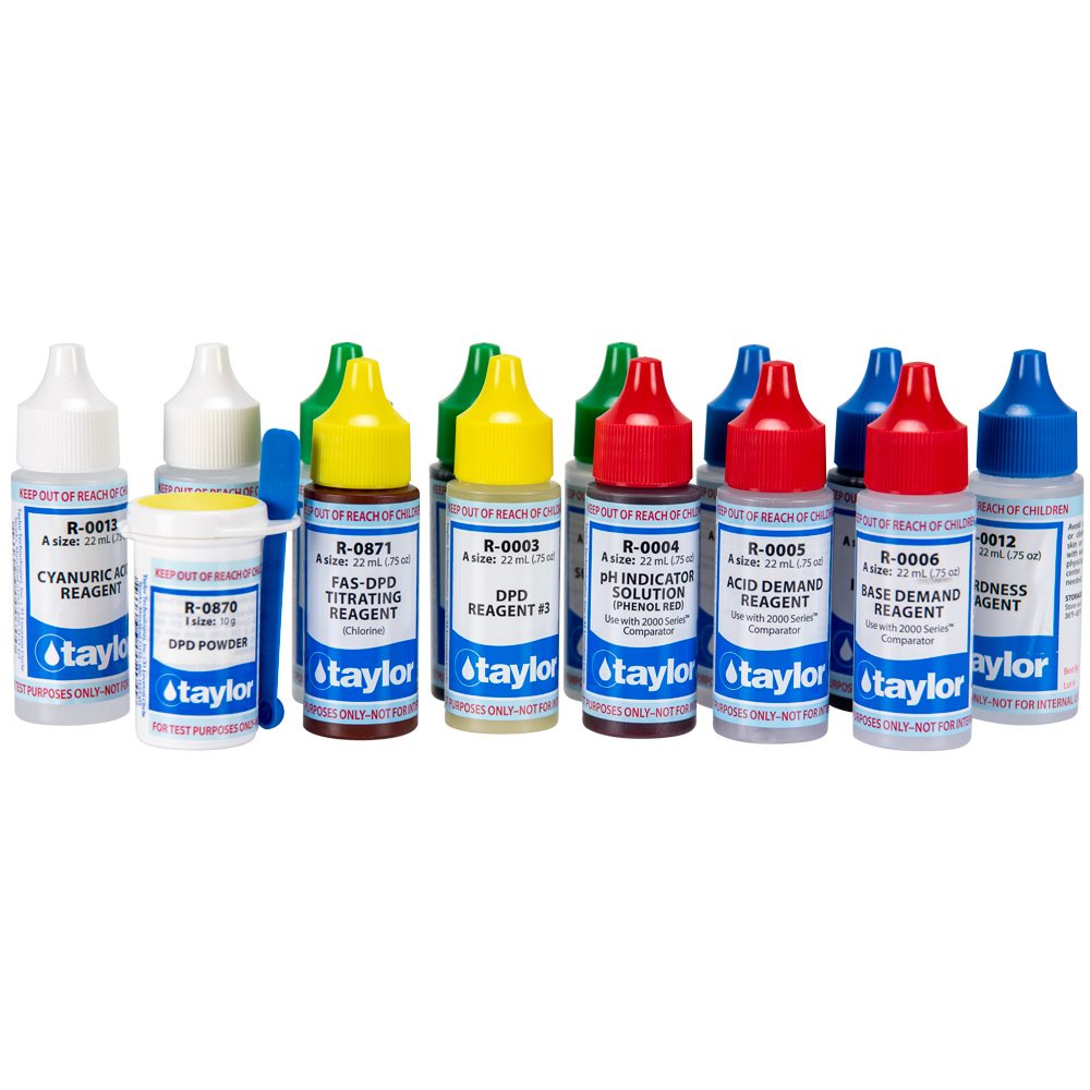Reagent Refill For Taylor Complete Fas Dpd Test Kit Chlorine K 2006