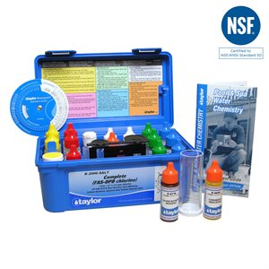 Taylor Complete FAS-DPD Test Kit plus Salt Test - Chlorine K-2006-SALT