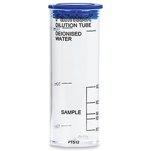 Plastic Dilution Tube