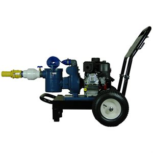 Gas Powered Vacuum Pump Cart
