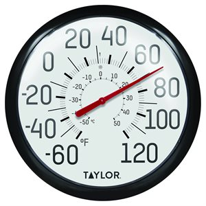 "13.25"" Big & Bold Outdoor Thermometer"