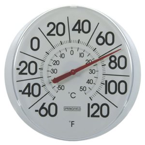 Patio Thermometer 13.25""