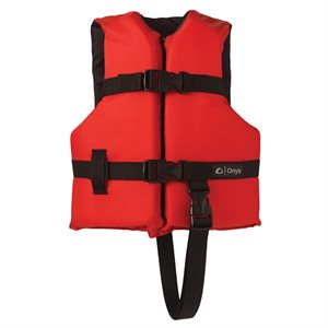 Child General Purpose Vest, Red
